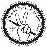 World Press Freedom Day Stock Photo