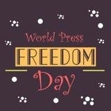 World Press Freedom Day. Stock Image