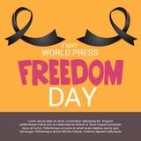 World Press Freedom Day. Royalty Free Stock Image