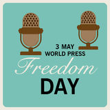 World Press Freedom Day. Royalty Free Stock Photography