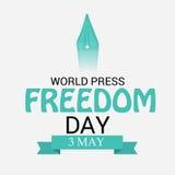 World Press Freedom Day. Stock Photos