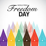 World Press Freedom Day. Stock Photography