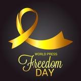 World Press Freedom Day. Royalty Free Stock Photo
