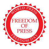 World Press Freedom Day. Vector illustration of a Banner for World Press Freedom Day Stock Images