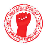 World Press Freedom Day. Vector illustration of a Banner for World Press Freedom Day Royalty Free Stock Image