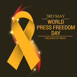 World Press Freedom Day. Vector illustration of a Banner for World Press Freedom Day Royalty Free Stock Photography