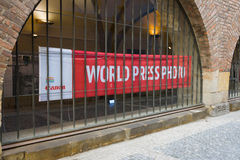 World Press Photo Exhibition Stock Image