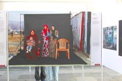 World Press Photo 2016 refugees, Netherlands Stock Images