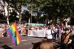 World Pride Madrid 2017 Stock Image