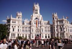 World Pride Madrid 2017 Stock Photo