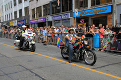 World Pride Parade 2014 Royalty Free Stock Image