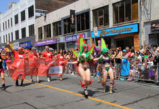 World Pride Parade 2014 Royalty Free Stock Photography