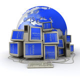 World program Royalty Free Stock Images