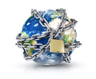 A world protection concept Royalty Free Stock Images