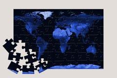 World puzzle Stock Photos