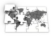 World puzzle Royalty Free Stock Image