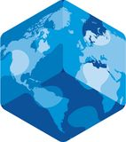 World puzzle (vector) Royalty Free Stock Photo