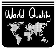 World quality Royalty Free Stock Images