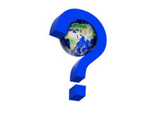 World question Royalty Free Stock Images