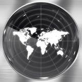 World Radar Screen Stock Image