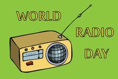 World radio day Stock Image