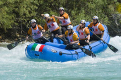 World rafting championship 2009 Royalty Free Stock Images