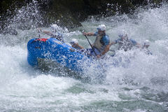 World Rafting Champs Banja Luka 2009 Royalty Free Stock Photos