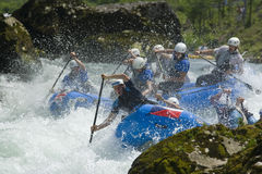 World Rafting Champs Banja Luka 2009 Royalty Free Stock Images