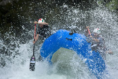 World Rafting Champs Banja Luka 2009 Stock Photography
