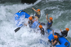 World Rafting Champs Banja Luka 2009 Royalty Free Stock Image