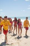 World Record bikini parade in Gold Coast Royalty Free Stock Photos