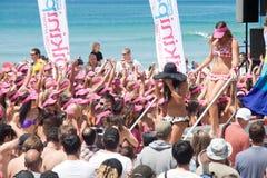 World Record bikini parade in Gold Coast Stock Photo