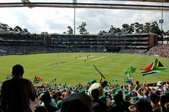 World Record Cricket. Image of World Record scoreboard at Wanderers Cricket stadium, Johannesburg South Africa, in a match between Australia and South Africa Stock Photos