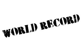 World Record rubber stamp Stock Photo