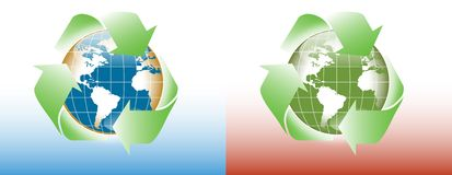 World recycle Royalty Free Stock Photos