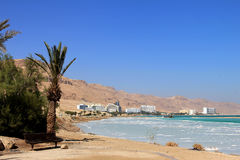 World-renowned health resort complex on the Dead sea Stock Photography