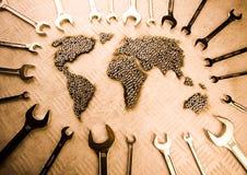 World repair Royalty Free Stock Image