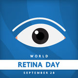 World retina day ,. Vector design for international day Royalty Free Stock Photo