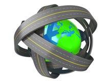 World roads Stock Photos