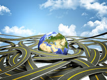 World roads Royalty Free Stock Photography