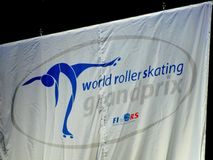 World Roller Skating - Grand Prix Royalty Free Stock Photo