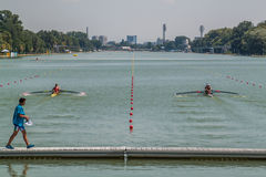World rowing championship under 23 years Stock Images