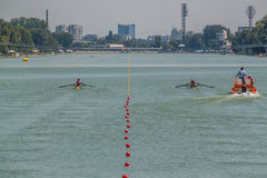 World rowing championship under 23 years Royalty Free Stock Images