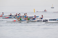 World Rowing Coastal Championships Thessaloniki Stock Photo