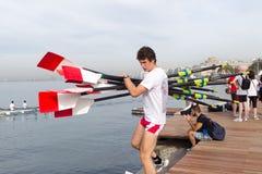 World Rowing Coastal Championships Thessaloniki Royalty Free Stock Image