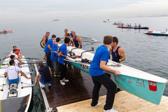 World Rowing Coastal Championships Thessaloniki Stock Image