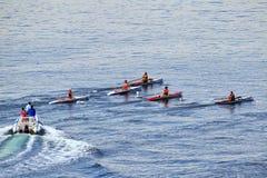 World Rowing Coastal Championships Thessaloniki Stock Photos