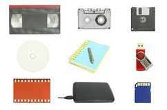 World's data storage Royalty Free Stock Photography