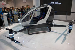 World's First Passenger Drone Royalty Free Stock Image
