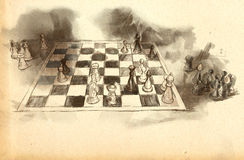 The World's Great Chess Games: Karpov - Kasparov Stock Images